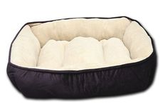 Want This:  HappyCare Textiles HCT REC 002 Luxury Embossed Rectangle Micro Mink Dog and Pet Bed