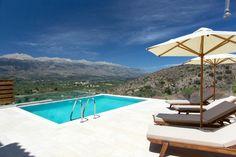 Holiday Villa in Chania, Crete - Luxury rental villa Amygdalia with private beach