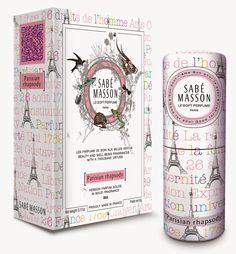 Le Soft Perfume by Sabé Masson - 'Parisian Rhapsody'