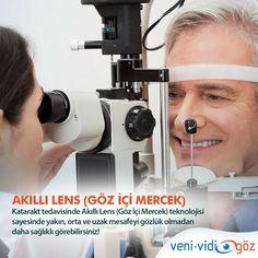Akıllı Lens(göz içi mercek)