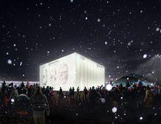Aspettando Sochi2014. Facciate tridimensionali e interattive