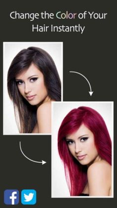 Hair Color Booth | 16 iPhone Apps That Will Make Women's Lives Easier