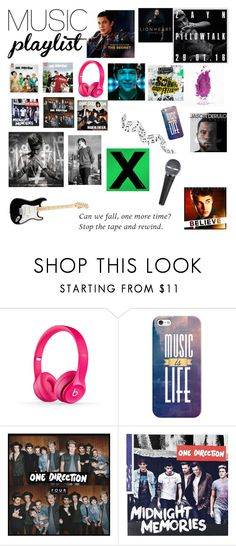 """""""My music playlist"""" by susanna-487 ❤ liked on Polyvore featuring Justin Bieber, Beats by Dr. Dre, Casetify, Nicki Minaj, women's clothing, women, female, woman, misses and juniors"""