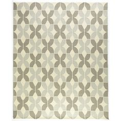 @Overstock - Handmade Indoor/ Outdoor Capri Grey Rug (7'6 x 9'6) - The Capri rug will brighten up your home inside or out with a series of appealing, modern, hand-hooked designs. Made of 100-percent polypropylene, this rug is UV and mildew-resistant.    http://www.overstock.com/Home-Garden/Handmade-Indoor-Outdoor-Capri-Grey-Rug-76-x-96/7751686/product.html?CID=214117  $321.99