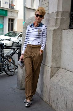 The Dandy, The Rockstar & The Gentlewoman {Style Icons: Janie, Esther & Jeeyong} Paris Fashion, New Fashion, Fashion Outfits, Fashion Trends, Street Fashion, Layered Fashion, Androgynous Fashion, Pleated Pants, International Fashion