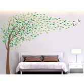 Found it at Wayfair - Flying in The Wind Removable Vinyl Art Wall Decal