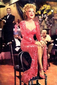 Betty Hutton as Texas Guinan in 'Incendiary Blonde'