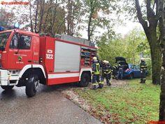 FF Bad Ischl: Fahrzeugbergung in der Maxquellgasse