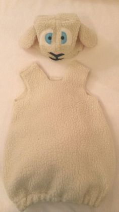 Spring Lamb Costume for Babies and Toddlers by MeniainWonderland