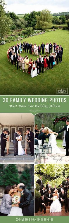 30 Must Have Family Wedding Photos ❤ Your parents play particular role at your wedding day, so why wouldn't get photos of that. You can devote a special time for family wedding photos. See more: http://www.weddingforward.com/family-wedding-photos/ #wedding #photography