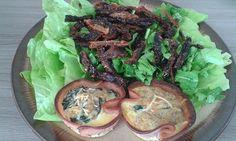 Panelinhas de Espinafre com Fatias de Peito de Peru. Uma delícia! Clique AQUI e veja como é simples de fazer... http://www.magrasaudavel.net