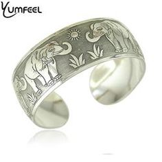c1ab0570f9a Fashion New Vintage Elephant Tibetan Silver Plated Bracelet Silver Bangles,  Tibet, Antique Silver,