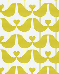 Wallpaper Lovebird Mustard Yellow from Isaac Tapet Lovebird Mustard Yellow från Isak Wallpaper Lovebird Mustard Yellow from Isaac Classic Home Decor, Grey Stone, Love Birds, Mustard Yellow, Mustard Wallpaper, Display, Walls, Inspiration, Patterns