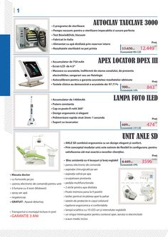 DenTeam Creation iti pune la dispozitie o gama variata de echipamente stomatologice noi de calitate ridicata