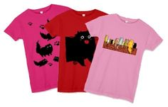 Great T-shirts from Dicke Katze, Fat Cats and Friends