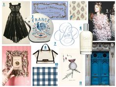 Modern French sophisticate mood board | MaeMae Paperie #maemaepaperie