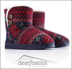 A new week a new winner - enter to win Dearfoams slippers!!!