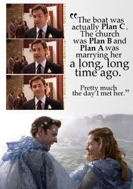 Jim & Pam- The Office <3