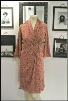 Noa Noa Valerian Dress 1-2956-1 in Rust £79