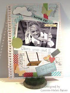 HOBBYKUNST: Mer SMASH-inspirasjon Polaroid Film, Blog, Design, Blogging