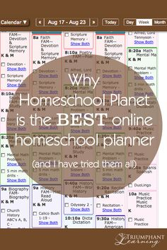 Homeschool Planet from Homeschool Buyers Co-op is a robust online homeschool planner that exceeds my demanding expectations. Learn about AMAZING features!