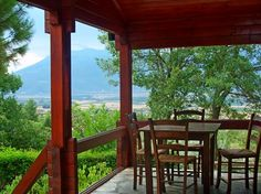 Green Tourism In Greece Greece Tourism, Gazebo, Pergola, Cabins In The Woods, Outdoor Structures, Windows, House, Kiosk, Tourism In Greece