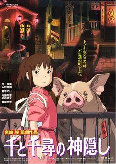 Spirited Away (Sen to Chihiro no Kamikakushi)