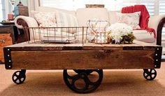 DIY Country Home Decor | Easy Furniture Projects | Cheap DIY Coffee Table Ideas  | DIY Projects and Crafts by DIY JOY at http://diyjoy.com/diy-home-decor-coffee-table-ideas