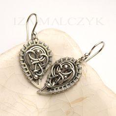 the Gemini Earrings by Iza Malczyk