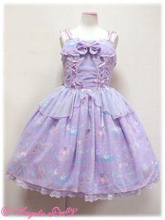 Angelic Pretty - Eroile Twins Dress JSK /// ¥26,040 /// Bust: 90~107cm Waist: 70~88cm Length: 85cm + 3cm lace