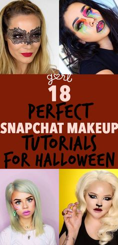 One of the most popular costume choices for Halloween 2016 is definitely a Snapchat filter. It's not hard to see why. Filters – with their power of giving us poreless skin and pretty makeup without us having to do anything – are the best thing about Snapchat. Using the dog filter for the 1000th time in a row and playing around with face swaps will basically never get old (I mean, it will. One day!). They also conveniently make for some really great DIY Halloween costumes.