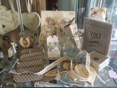 Fun trinkets for the happy couple