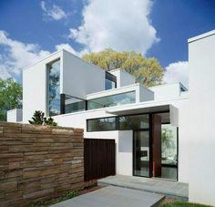 Jigsaw House in Bethesda, Maryland, USA by David Jameson Architect