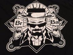 Men's Official BREAKING BAD Men's Graphic T-Shirt. Heisenberg.  Black. Size XL #BreakingBad #GraphicTee