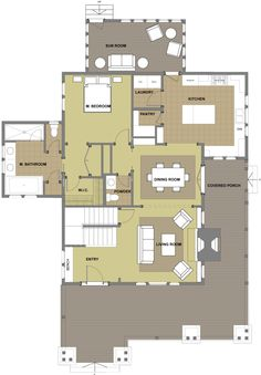 Phenomenal New Old Bungalow Plan Two Floor Plan I Would Push 10 11 Out Largest Home Design Picture Inspirations Pitcheantrous
