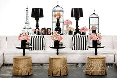 Could be used as bridal shower decor or wedding reception