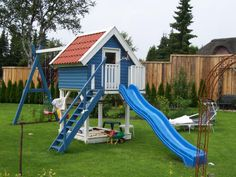 Ideal Small Oudoor Garden For Play Kids