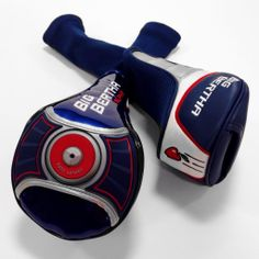 """These new headcovers for the new Big Bertha and Big Bertha Alpha """"are worth the cost of the driver alone,"""" said Chad Coleman of Callaway golf."""