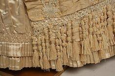 1875-78 ___ Dinner Dress by Mon. Vignon ___ silk & glass ___ French (Paris) ___ at The Metropolitan Museum of Art ___ photo 10