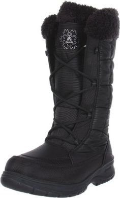 Kamik Womens New York Snow BootBlack8 M US >>> More info could be found at the image url.