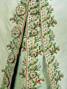 Tambour Suit of Clothes | At the Sign of the Golden Scissors