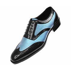 Amali Mens Metallic Multi Colored Rainbow Glitter Lace Up Oxford Tuxedo Dress Shoe : Style Shimmer-462