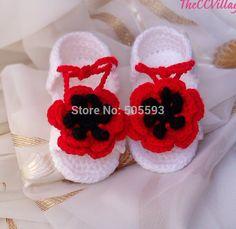 Primeiro walkers artesanal de tricô e crochê sapatos de bebê sapatos recém-nascidos sapatos infantis 0-12 meses crochet sapatinho de bebê x11(China (Mainland))