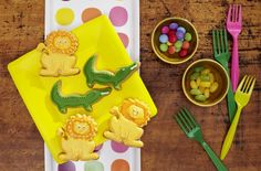 Kekse, Löwe, Krokodil, Dschungel, Kindergeburtstag, Tambini.de, Food: Sarah Brandt