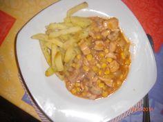 Kuracie soté so zeleninou (fotorecept) - recept | Varecha.sk Chana Masala, Ethnic Recipes, Food, Essen, Meals, Yemek, Eten