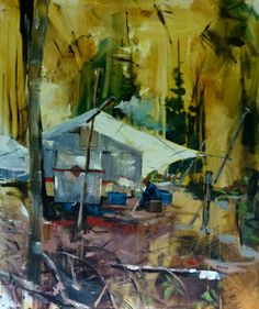 Canadian artist Dominique Normand has a unique portfolio filled with compelling images of native culture. Canadian Artists, Shark, Artsy, Cold, Paintings, Culture, Landscape, Unique, Inspiration
