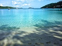 Magen's Bay St. Thomas USVI beautiful beach crystal blue water!