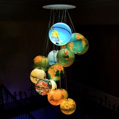 my dad used to have a globe that lit up like this, i wonder whatever happened to it...