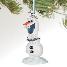 Olaf and Snowgies Sketchbook Ornament - Personalizable | Disney Store