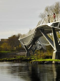 University of Limerick Living Bridge by Wilkinson Eyre Architects and Eiffel
